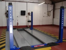 Tecalemit Package Class IV, V (Limited), & VII Automated Test Lane Package with 6.5m lift