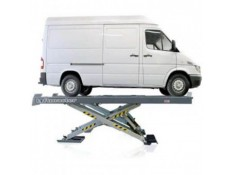 Tecalemit Package with 5 tonne Scissor Lift, 5200mm platforms